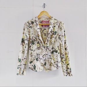 Free People for Anthropologie 🍂☕️ Floral Blazer